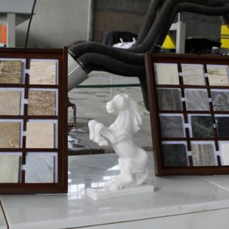 Marble on display at a specialist shop in Afghanistan. (Photo: USAID Afghanistan/Wikimedia Commons)