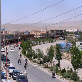 City of Sharan, capital of the Paktika province in Afghanistan. (Photo: IWPR)