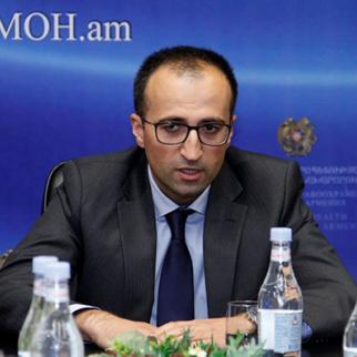 Armenian minister for health Arsen Torosyan. (Photo: Government of Armenia website)