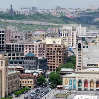 View of Abovyan street from Republic square, Yerevan. (Photo: Hayk Bianjyan)