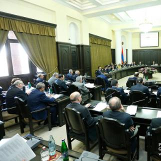 On April 5, Armenia´s government approved a draft law on the recognition of Nagorny Karabakh. (Photo Courtesy of Press Office of Armenian Government)
