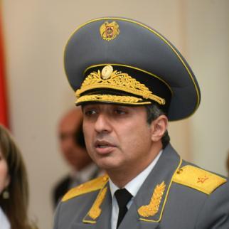 Mihran Poghosyan, Armenia´s chief compulsory enforcement officer. (Photo: Photolure Agency)