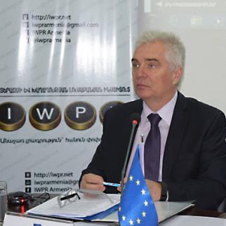EU Delegation to Armenia Ambassador Piotr Switalski. (Photo: IWPR)