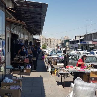 Yerevan's marketplace known as Bangladesh.