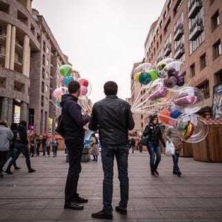 A street in Yerevan, Armenia. (Photo: Maja Hitij/Getty Images)