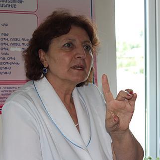 Dr Asya Mardanyan, head of the family medicine centre in Tavush region. (Photo: Lilit Arakelyan)