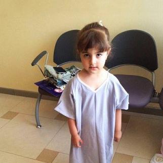 Three-year-old Arzu Gurbanli died after surgery. (Photo courtesy of Gurbanli family)