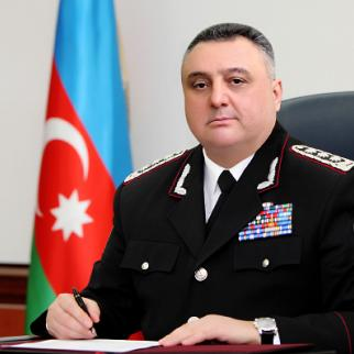 Azerbaijani security minister Eldar Mahmudov in better times. (Photo: Azertaj news agency)