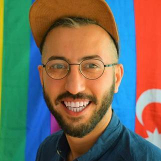 Javid Nabiyev, founder of Nafas rights NGO.