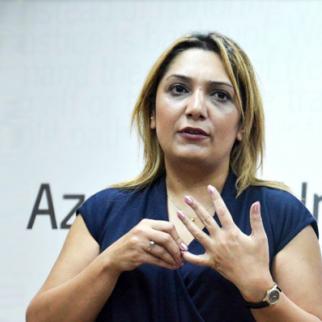 Matanat Azizova, head of the Women´s Crisis Centre. (Photo courtesy of M. Azizova)