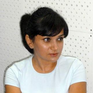 Naila Yagublu, chairwoman of the women´s branch of the opposition Musavat party. (Photo courtesy of N. Yagublu)