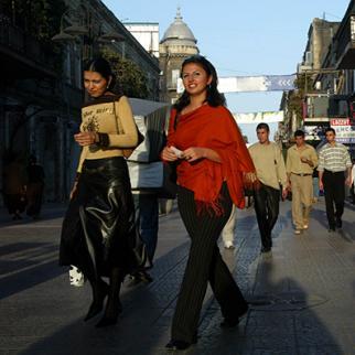 Women walk through Azerbaijan's capital Baku. (Photo: Oleg Nikishin/Getty Images)