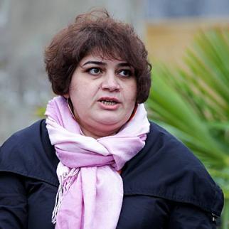 Khadija Ismayilova. (Photo: Aziz Karimov)