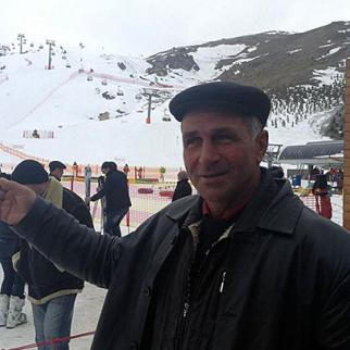Mirzabey Mirzayev says his land was seized to build a holiday resort. (Photo: Gular Mehdizade)