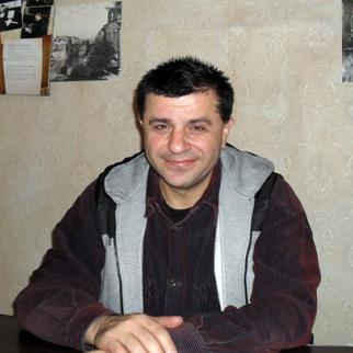 Theatre director Gocha Kapanadze. (Photo: Vafa Zeynalova)