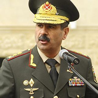 Azerbaijan's new defence minister, Zakir Hasanov. (Photo: Azerbaijan defence ministry website)
