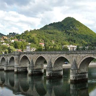 Visegrad's 16th century Ottoman bridge. (Photo: Philippe Le Moine/Flickr)