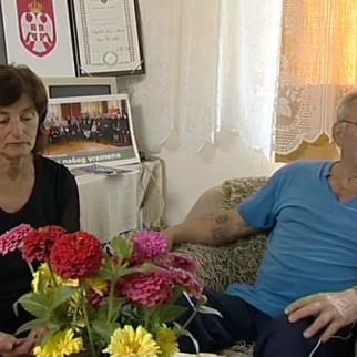 Milan and Smilja Vidovic, who decided to donate organs of their deceased son to both Bosniaks and Serbs. (Still from New Life documentary by IWPR)