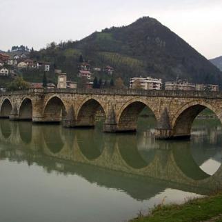 Visegrad's 16th century Ottoman bridge. (Photo: Rachel Irwin)