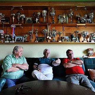 Jandro Curic, Muhamed Alijagic and Osman Muslic (left to right). (Photo: Midhat Poturovic)