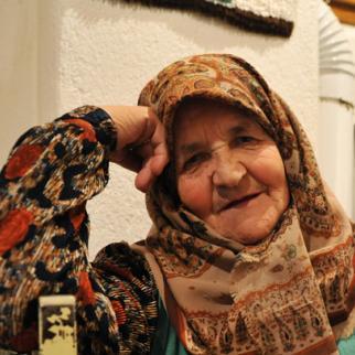 Adila Tiro, from a village near Rogatice, eastern Bosnia. (Photo: Midhat Poturovic)