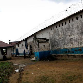 The international aid agency Medecins Sans Frontieres has worked to improve the health of inmates at the dilapidated and overcrowded Bunia prison in eastern DRC. (Photo: Claude Mahoudeau/MSF)
