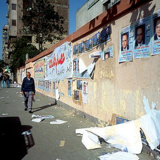 Election posters in Cairo. (Photo: Kim Chi Hoon/Flickr)