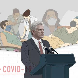 The President of Cuba, Miguel Díaz-Canel, has wrongly claimed that Cuban medicine and science have saved 80% of critical patients from COVID-19.