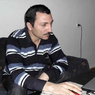 Ehtiram Pashayev, deputy director of the Public Organisation Against AIDS. (Photo: Vafa Zeynalova)