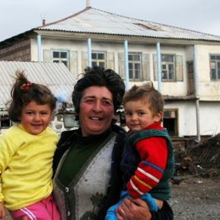 Two children are now the exception rather than the norm in Georgia. (Photo: Mirian Koridze)