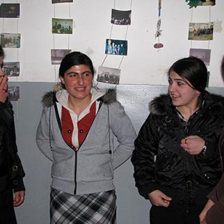 Meskhetian pupils at a school in Ianeti, western Georgia. (Photo: Maia Avaliani)