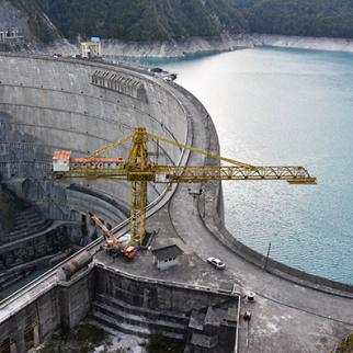 The Enguri Dam. (Photo: Tamuna Shonia)