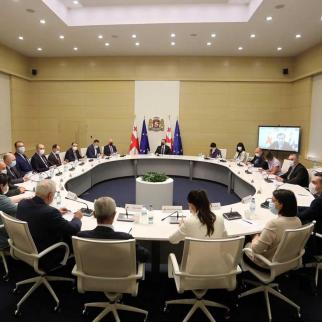 The Government at a meeting to discuss access to vaccines.