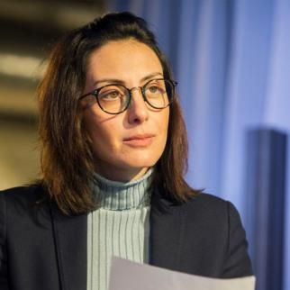 Khatia Dekanoidze of the United National Movement (UNM) opposition party in Georgia. (Photo: Ministry of Justice of Ukraine)