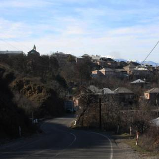 Skhvilisi village in Samtskhe-Javakheti region of Georgia with Armenian population. (Photo: Samkhretis Karibche newspaper)
