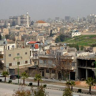 Panoramic view of the city of Hama. (Photo: Hovic/Flickr)
