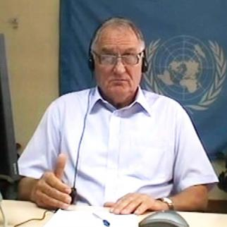 Bosko Kelecevic, witness in the Mladic trial at the ICTY. (Photo: ICTY)