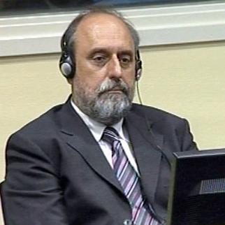 Goran Hadžić in the ICTY courtroom. (Photo: ICTY)