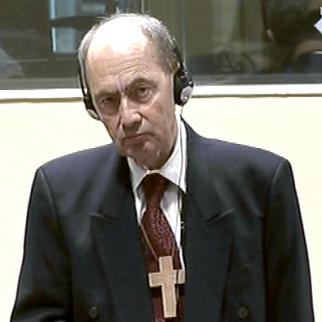 Zdravko Tolimir in the ICTY courtroom. (Photo: ICTY)