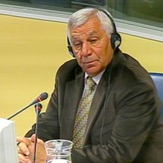 Prosecution witness Aleksandar Vasiljevic in the ICTY courtroom. (Photo: ICTY)