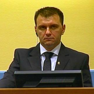 Johan Tarculovski in the ICTY courtroom in 2010. (Photo: ICTY)