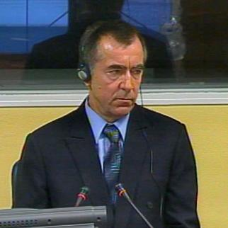 Jovan Susic, prosecution witness in the trial of Croatian Serb political leader Goran Hadzic. (Photo: ICTY)