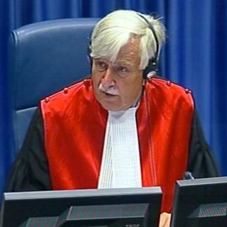 Judge Alphons Orie. (Photo: ICTY)