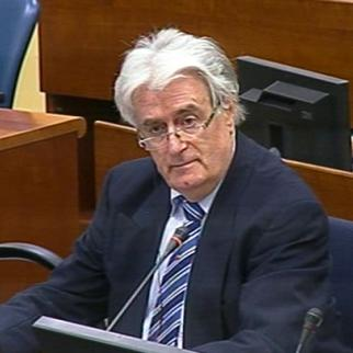 Radovan Karadzic in the ICTY courtroom. (Photo: ICTY)