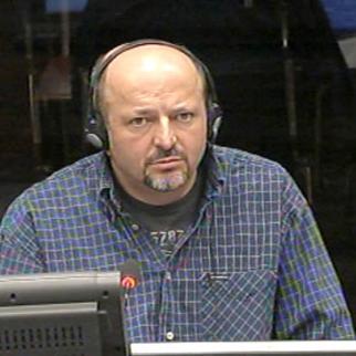 Milomir Stakic, defence witness in the Karadzic trial. (Photo: ICTY)