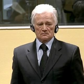 Momcilo Perisic in the ICTY courtroom. (Photo: ICTY)