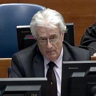 Radovan Karadzic, former Bosnian Serb political leader in the ICTY courtroom. (Photo: ICTY)