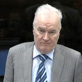 Ratko Mladic in the ICTY courtroom. (Photo: ICTY)