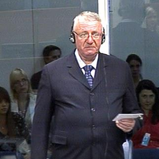 Vojislav Seselj in the ICTY courtroom last year. (Photo: ICTY)