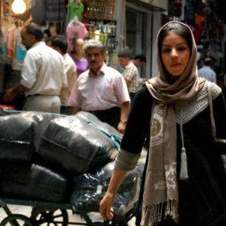 The Grand Bazaar in Tehran: the end of sanctions brings hope for economic growth. (Photo: Regina Jegorova-Askerova/IWPR Georgia)